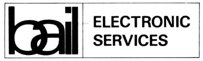 Bail Electronics Services Logo, late version