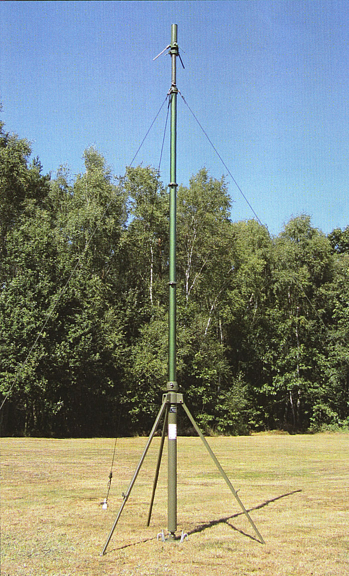 FT RM Series Mast Field Deployed