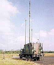 Multiple portable Clark Masts - Military Vehicle Mounted